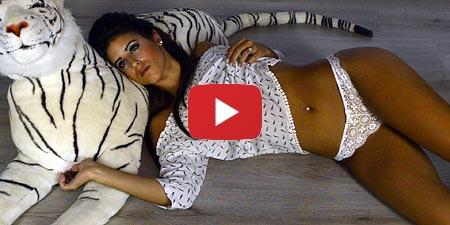 Shoot lingerie avec Yannick Alfano et Laury Mirisola
